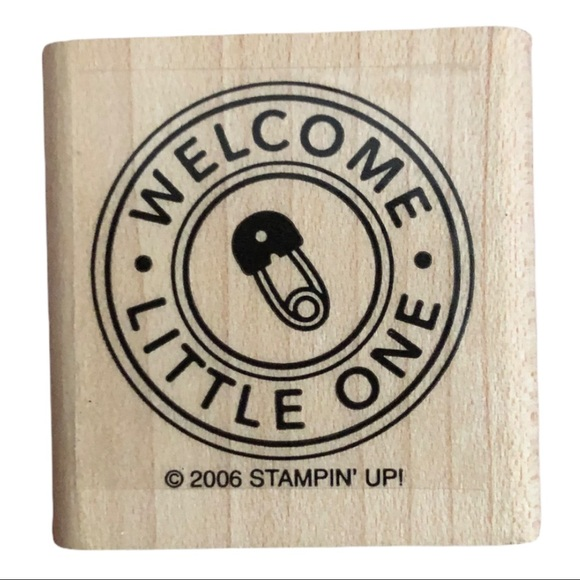 3/$20 Stampin' Up! | 2006 Welcome Little One Stamp